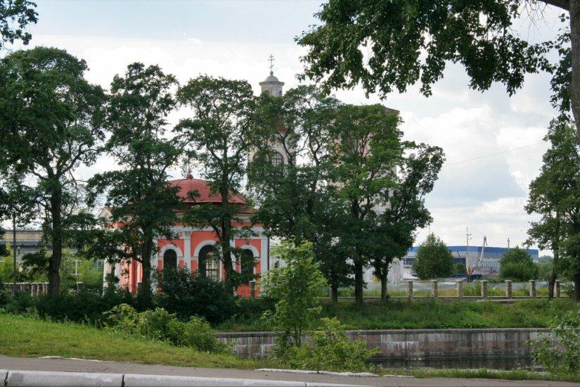 Благовещенский собор и Казанская часовня, Шлиссельбург