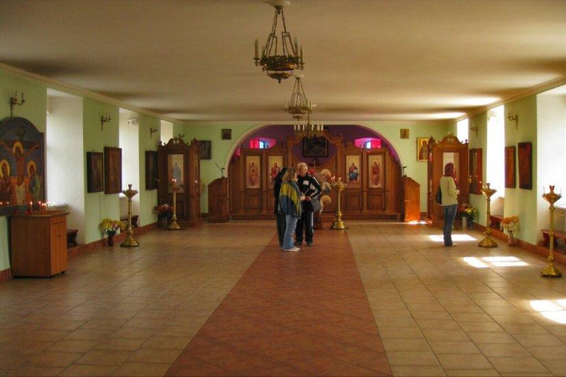 Внутреннее убранство Никольской церкви, Шлиссельбург