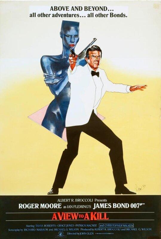 5 октября | Всемирный день Джеймса Бонда | 50-летие `Бондианы`в кинопостерах
