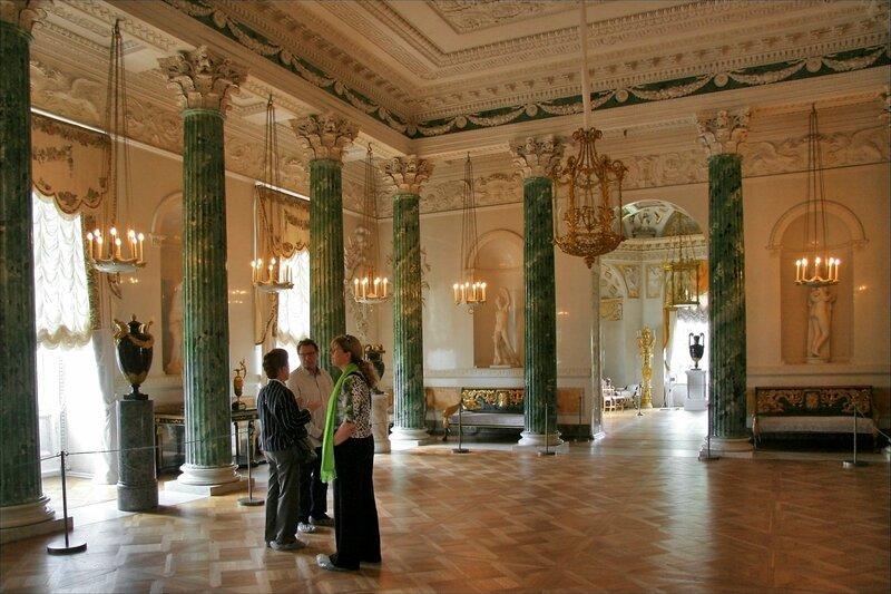 Павловский дворец, Греческий зал