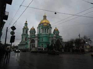 Елоховский собор. Необработанное фото.