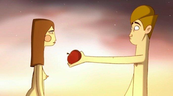 Если бы яблоко сорвал Адам. Мультфильм «Яблоня» (видео)