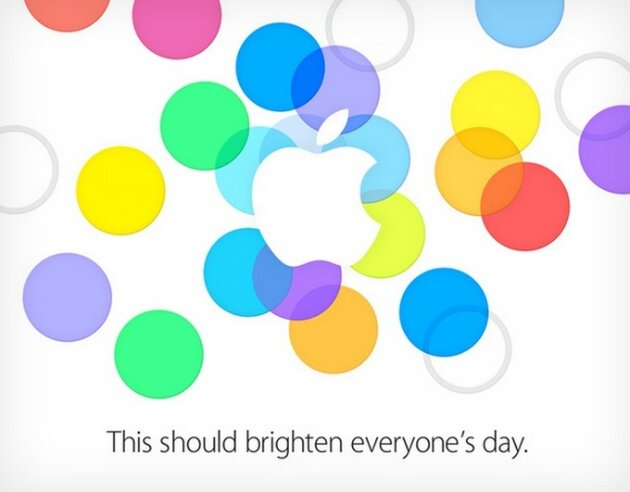 Apple Event September 2013 iPhone 5S 6 5C