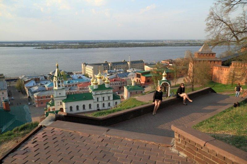 Панорама Нижнего Посада, Нижний Новгород