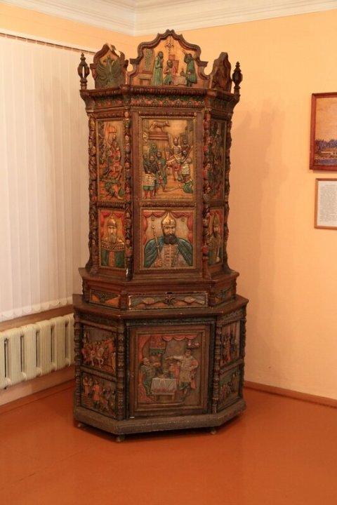 Городецкий краеведческий музей, горка
