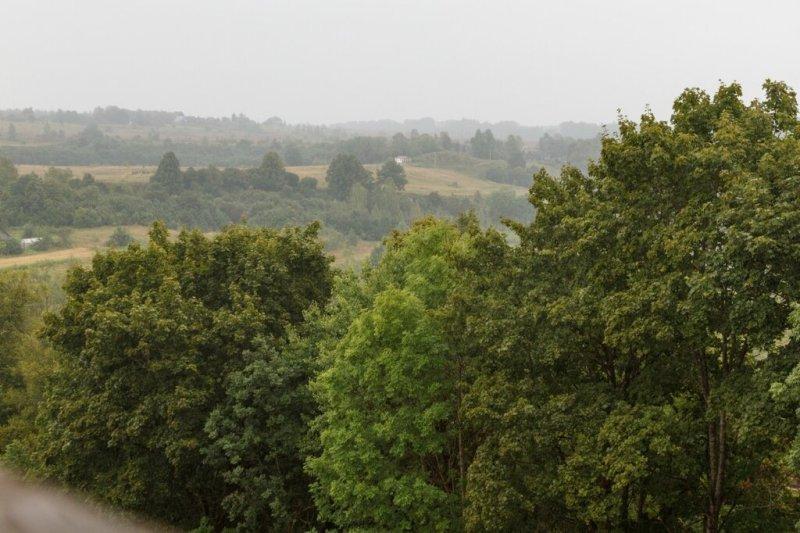 Панорама окрестностей, Изборск