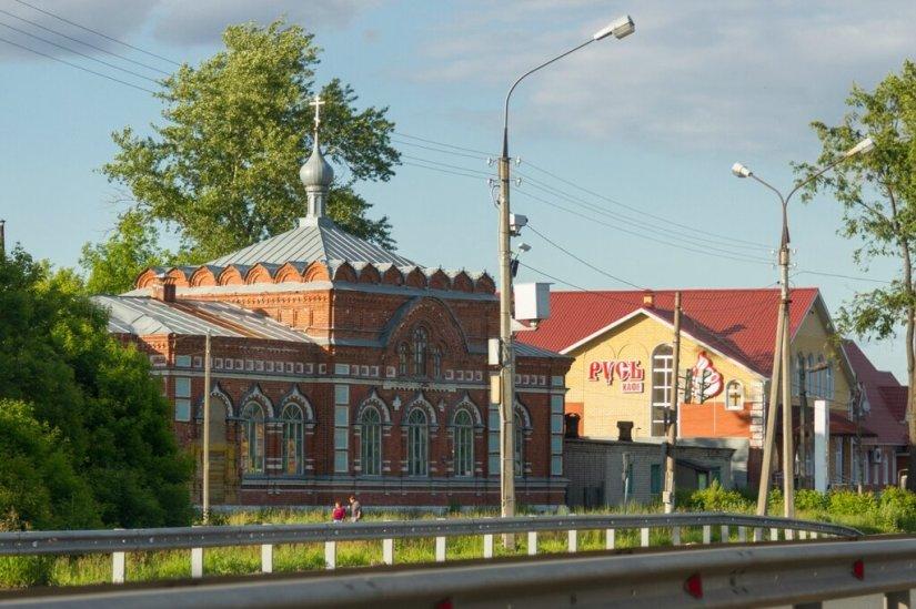 Церковь Василия Великого, Мячково