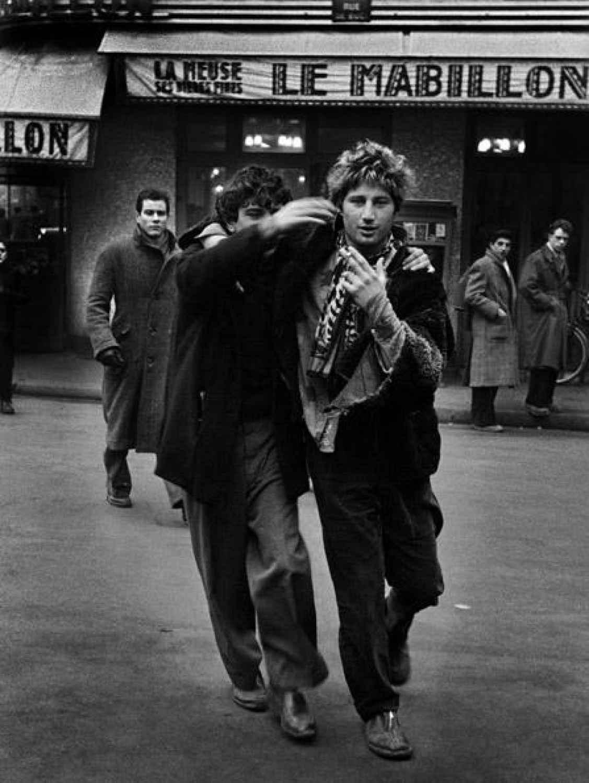 Париж пятидесятых. Фотосерия Love on the Left Bank / Любовь на левом берегу. ©Ed van der Elsken / Эд ван дер Элскен