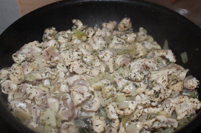 Баклажаны с мясом