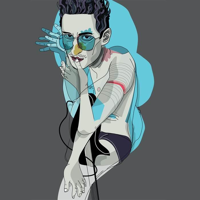Австралийский графический дизайнер Curt Livingston. 20 работ