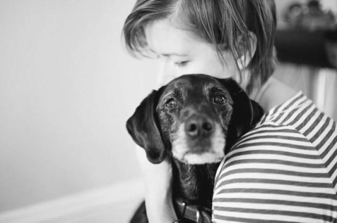 Трогательные фотографии прощания хозяев со своими собаками