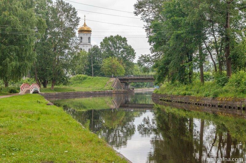 Цнинский канал и Богоявленский собор, Вышний Волочек