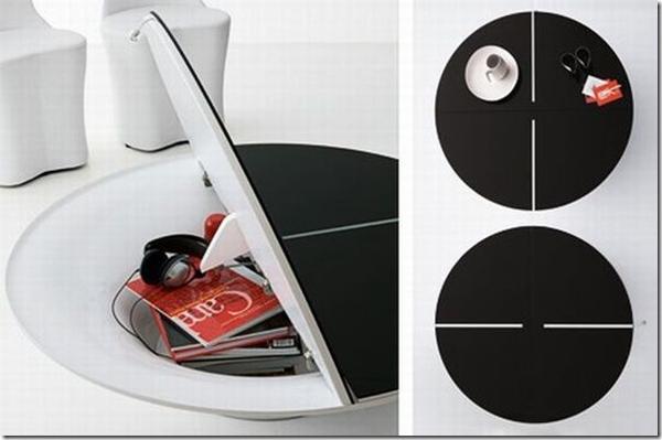 Креативный дизайн журнальных столиков. 30 нестандартных примеров