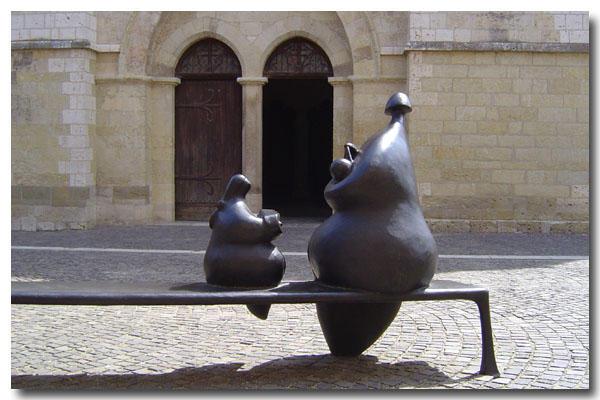 Уличная скульптура Жана-Луи Тутена / Jean-Louis Toutain