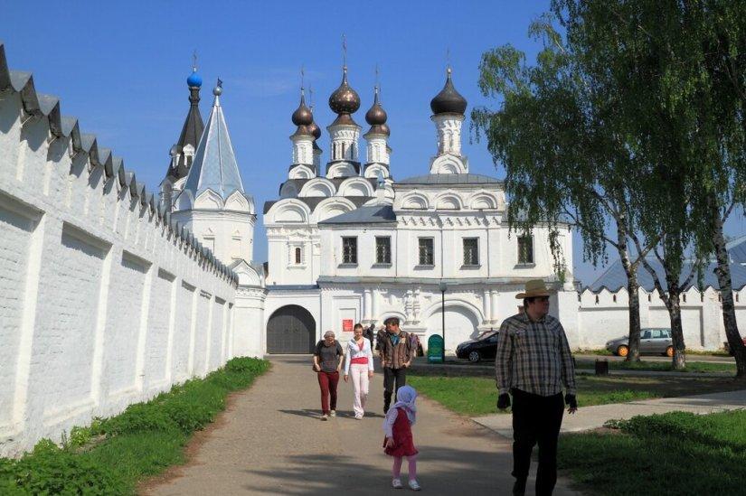 Благовещенский монастырь и стены Свято-Троицкого монастыря, Муром