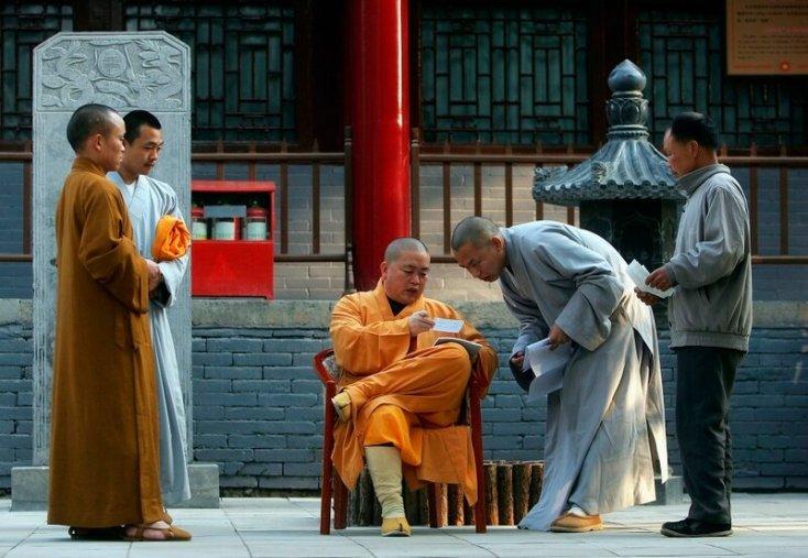 Один день в Шаолине   фотографии из легендарного китайского монастыря