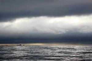 Игры света в облаках