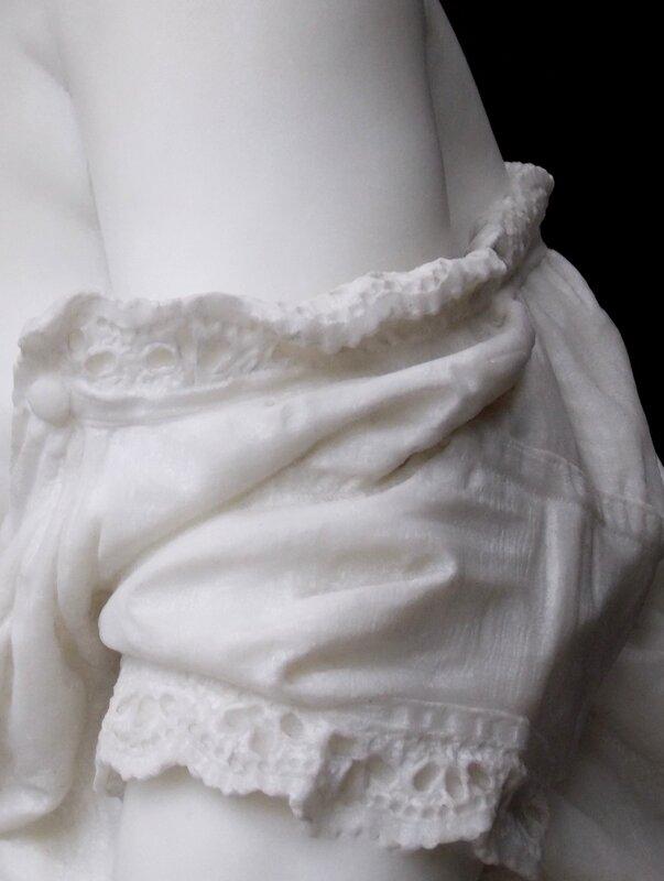 Скульптура из Воронцовского дворца, Алупка, Крым. Как это сделано? —  Головоломка