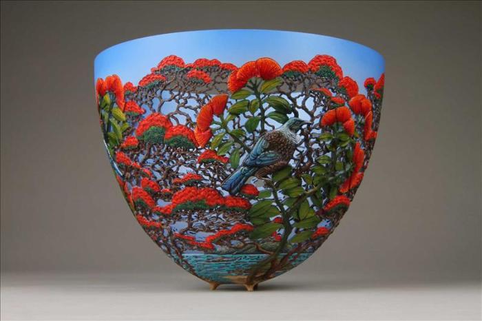 Гордон Пембридж. Шикарные сосуды из дерева.