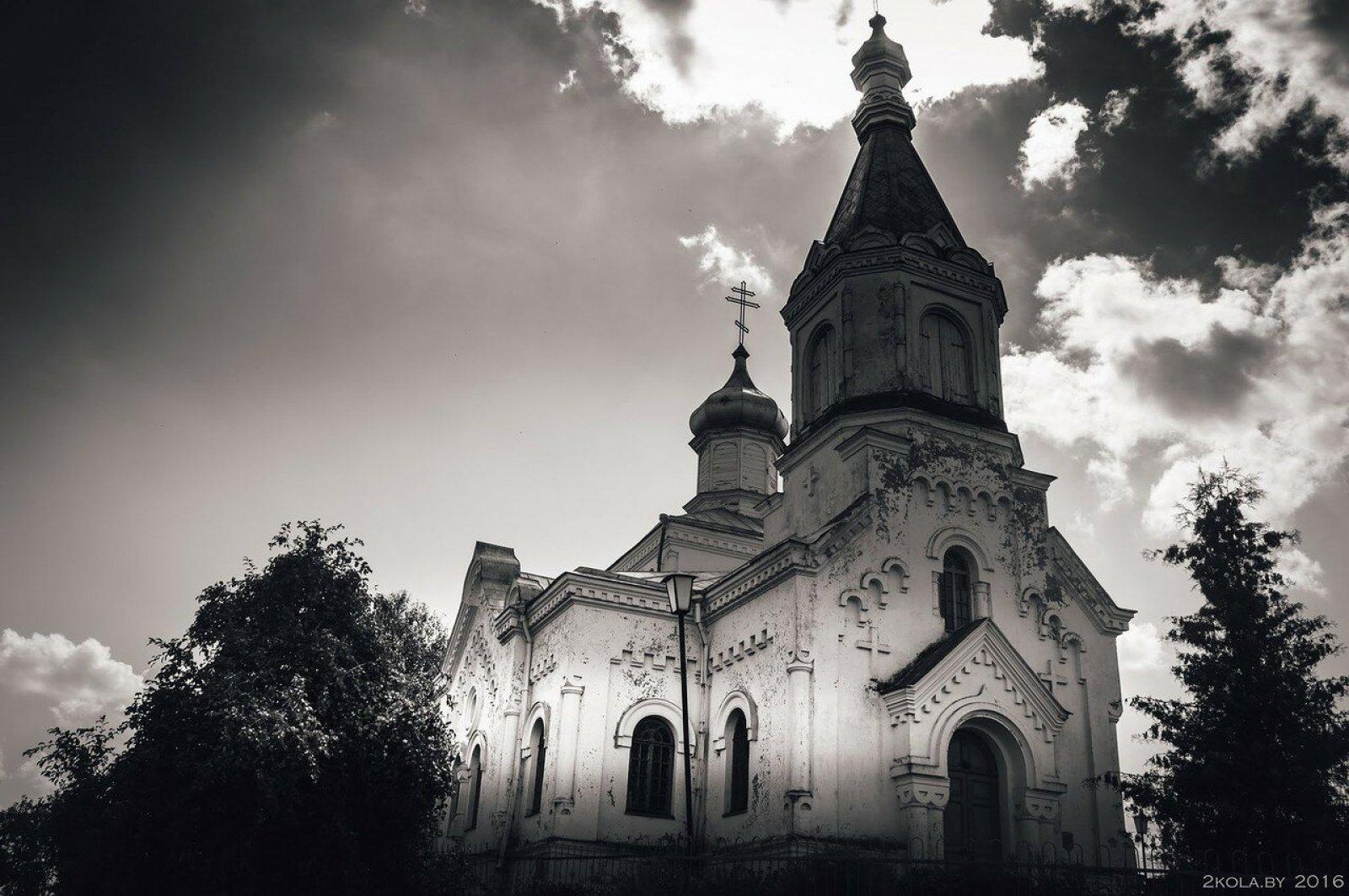 Церковь в д. Иказь