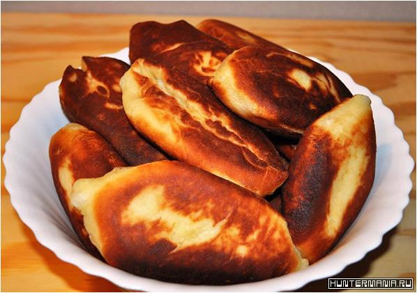 Пирожки жареные быстро без хлопот (рецепт)