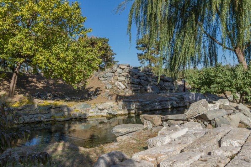 Руины, парк Юаньминъюань