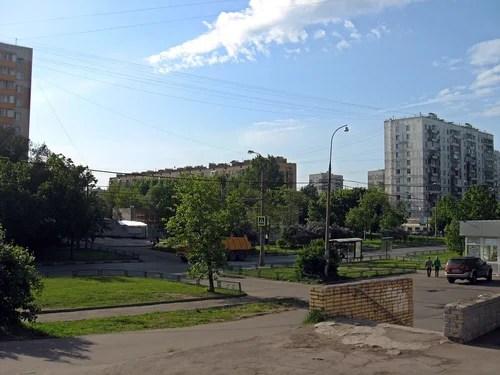 Гольяново. Уральская улица.