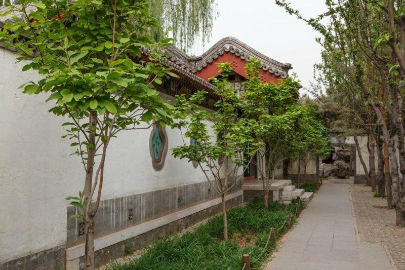 сыхэюань, парк Дагуань, Пекин, китайский дом