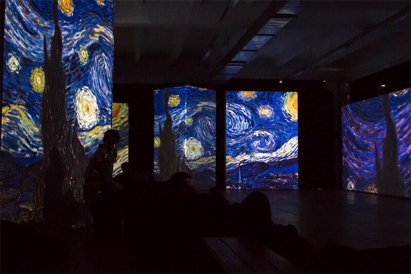 Ван Гог Ожившие полотна