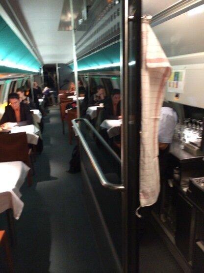 Вагон Швейцарского поезда