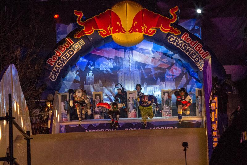 Red Bull Crashed Ice, Москва 2014