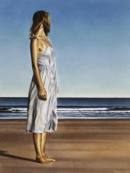«Женский художник» Пол Келли и его нежные картины разных лет