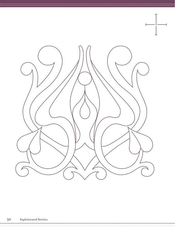 Designs for Quilting, Applique, Sashiko Embroidery ~ DIY