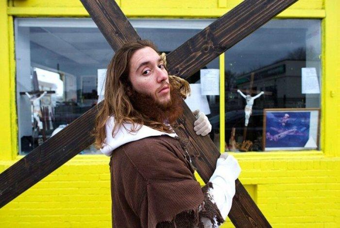 Майкл Грант— новый Христос из Филадельфии