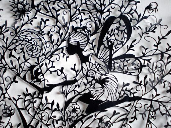 Традиционное китайское искусство вырезания из бумаги - цзяньчжи / 剪紙 / jianzhi