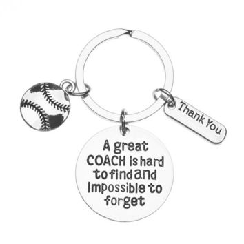 Shop Softball Keychain on Wanelo