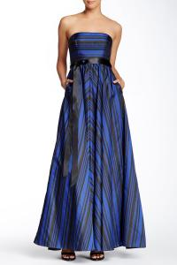 Strapless Striped Gown from Nordstrom Rack | Prom Collection