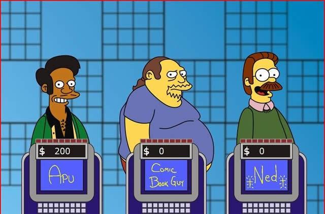 Simpsons-jeopardy