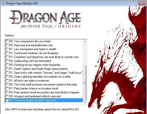 dragon age origins v1.05 trainer by kelsat
