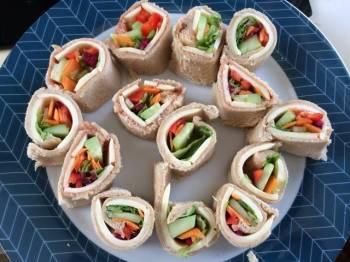Bread pinwheel Sandwich/Bread Sushi