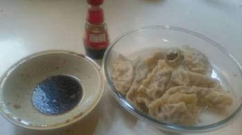 Asian Dumplings, boiled