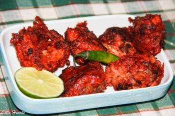 Bangalore Empire Restaurant Style Fried Chicken Kebabs