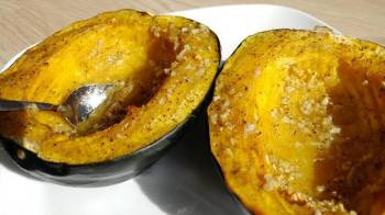Colin's Buttery Roasted Peppercorn Squash