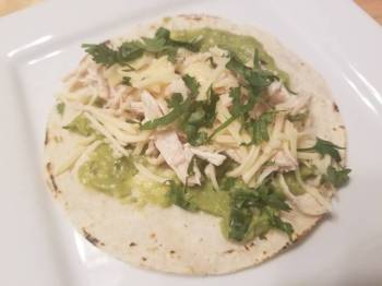 Lemon Chicken Tacos