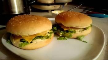 Michigan Burger w/ Michigan Lake Sauce