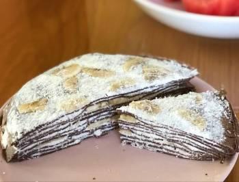 Sugar-free pancake cake 🥞