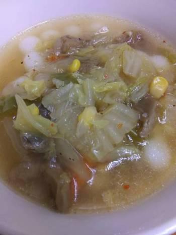 InstantPot Beef Knee Bone Soup with Veggies