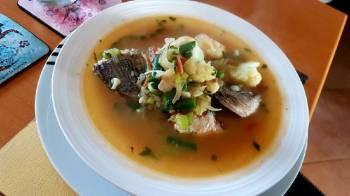 Fish n' Veggies Soup