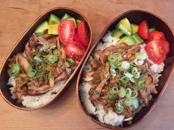 Shredded Chicken wings Lunch box