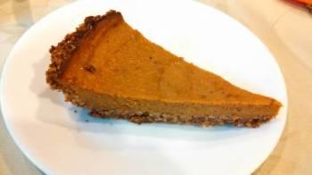 Healthiest Pumpkin pie (sugar free, gluten free, dairy free)